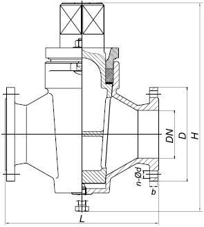 Кран конусный 11ч12бк (ААРШ 491745)
