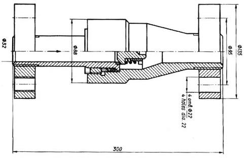 Клапан обратный 16с21нж (ПЗ 43019)
