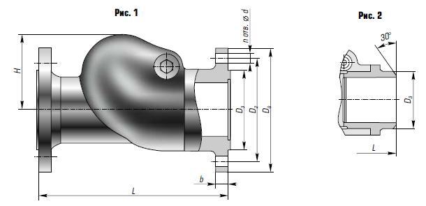 Клапан обратный КЗ 44092