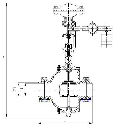 Регулятор давления 21с10нж, 21нж10нж, 21с12нж, 21нж12нж