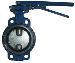 Затвор поворотный дисковый межфланцевый ЗПДМ