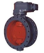 Затвор поворотный дисковый запорно-регулирующий 32ч326р, 32ч926р Ду500, Ду600, Ду800, Ру10