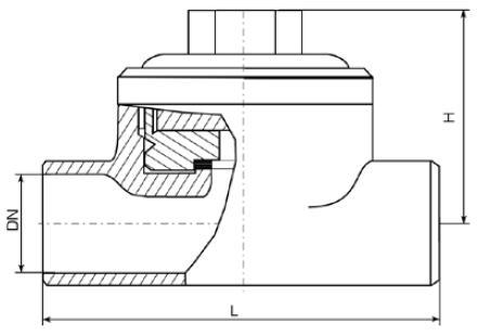 Конденсатоотводчик термодинамический 45с13нж (СА 76013), 45нж13нж (СА 76015)