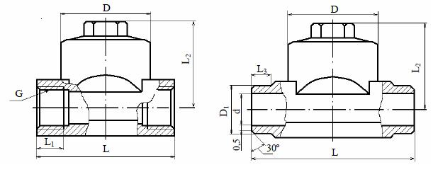 Конденсатоотводчик термодинамический 45с15нж, 45нж15нж (ВИЛН.494652), 45с15нж1, 45нж15нж1 (ВИЛН.494654)