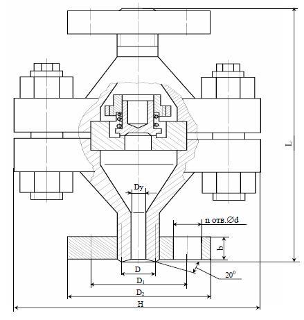 Затвор (клапан) обратный К 43005-02