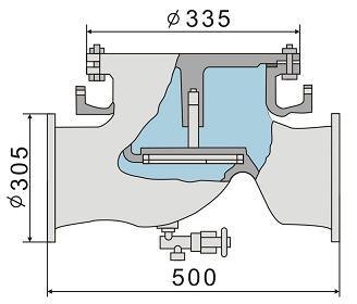 Клапан тарельчатый МО-91А, МО-92А (М0-91А, М0-92А)